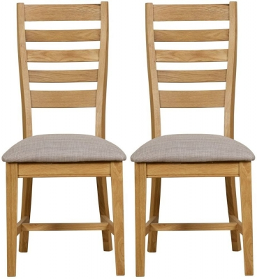 Mark Webster Westport Oak Dining Chair (Pair)