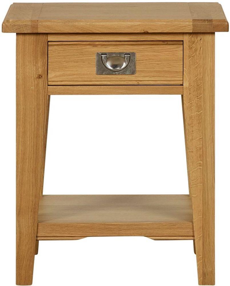 Mark Webster Westport Oak Lamp Table