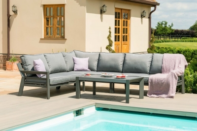 Maze Rattan New York Corner Sofa Set