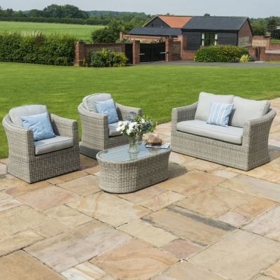 Maze Rattan Oxford 2 Seat Sofa Set