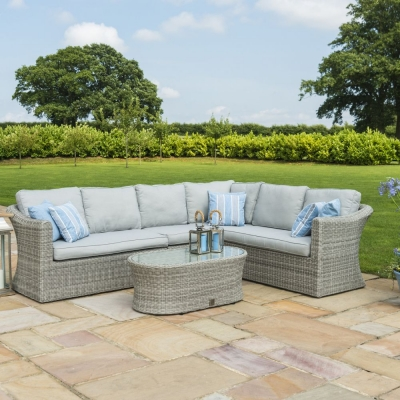 Maze Rattan Oxford Large Corner Sofa Set