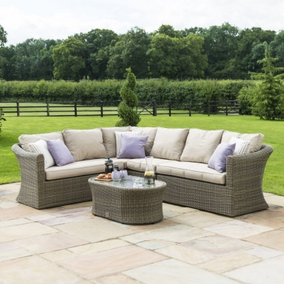 Maze Rattan Winchester Large Corner Sofa Group