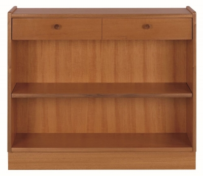 Nathan Classic Teak Low Bookcase