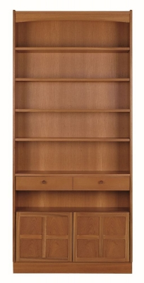 Nathan Classic Teak Tall Bookcase
