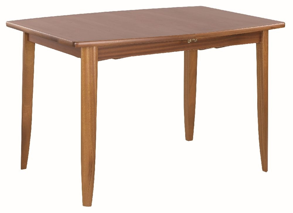 Nathan Classic Teak Boat Shaped Extending Dining Table