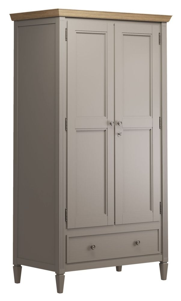 Nathan Oslo Painted 2 Door Wardrobe