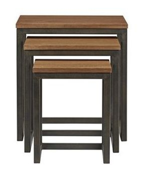 Nathan Palma Industrial Nest of Tables