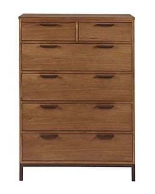 Nathan Palma Industrial 2+4 Drawer Chest