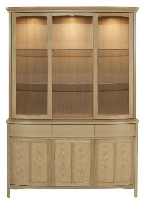 Nathan Shades Oak Large Display Unit