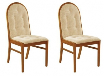 Nathan Trafalgar Droxford Upholstered Dining Chair (Pair)