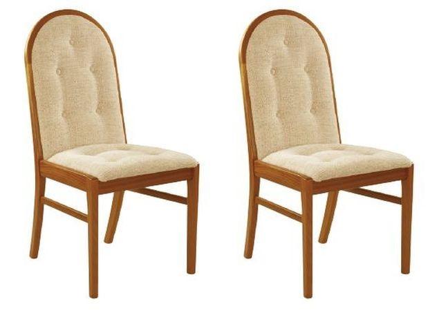 Nathan Trafalgar Droxford Upholstered Dining Chair (Pair)