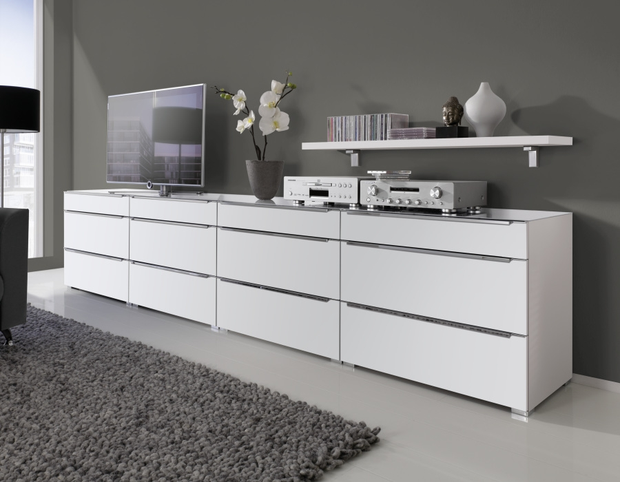 Nolte Alegro Trend High Gloss Chest of Drawer