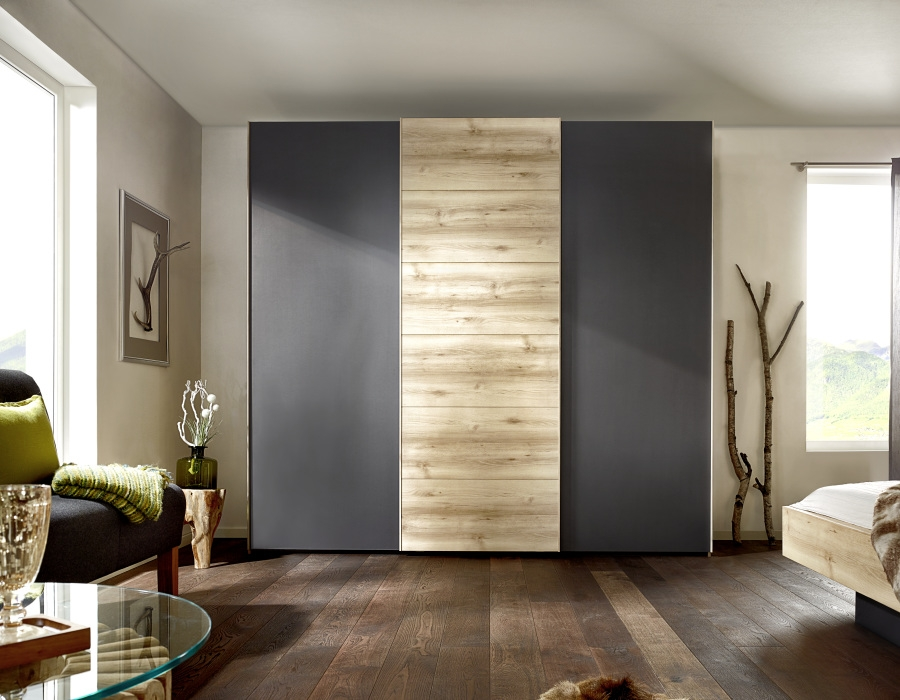 Buy nolte attraction wood sliding wardrobe online cfs uk for Armoire nolte prix