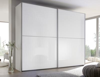 Nolte Attraction Glass Sliding Wardrobe with One Horizontal Door Trim