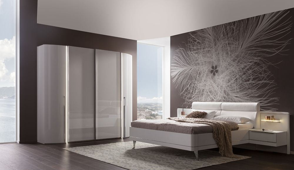Nolte Columbus Hinged and Sliding Wardrobe with High Gloss Front