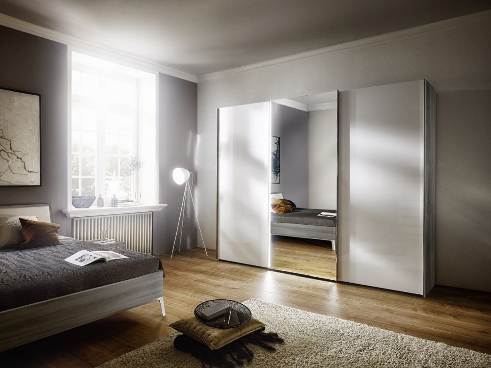 Nolte Columbus Sliding Wardrobe with High Gloss Front