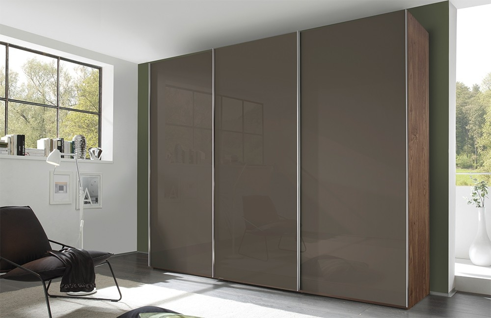 Buy Nolte Evena Glass Doors Sliding Wardrobe Online Cfs Uk