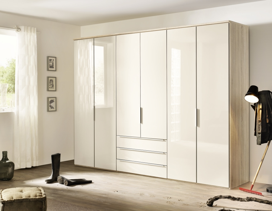 Nolte Horizont 10500 High Gloss Door Hinged Wardrobe