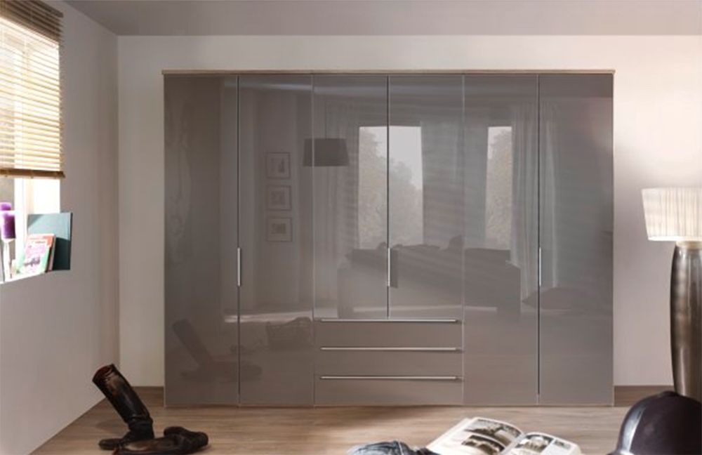 Nolte Horizont 10500 High Gloss Double Door Hinged Wardrobe