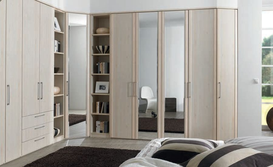 Nolte Horizont 4500 Corner Framed Effect Door Hinged Wardrobe