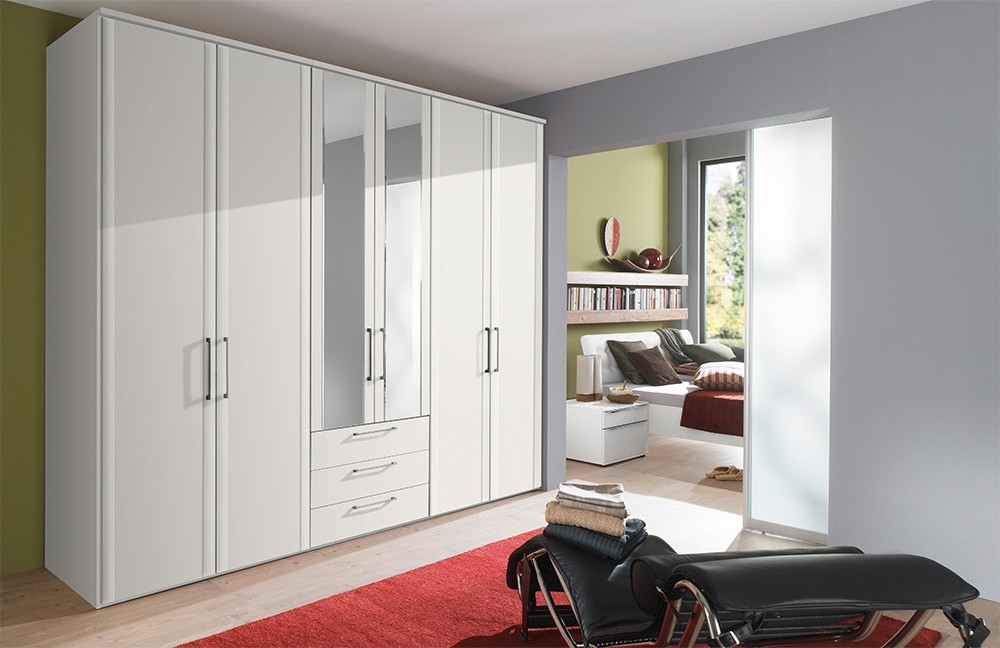 Nolte Horizont 4500 Profile Door Hinged Wardrobe