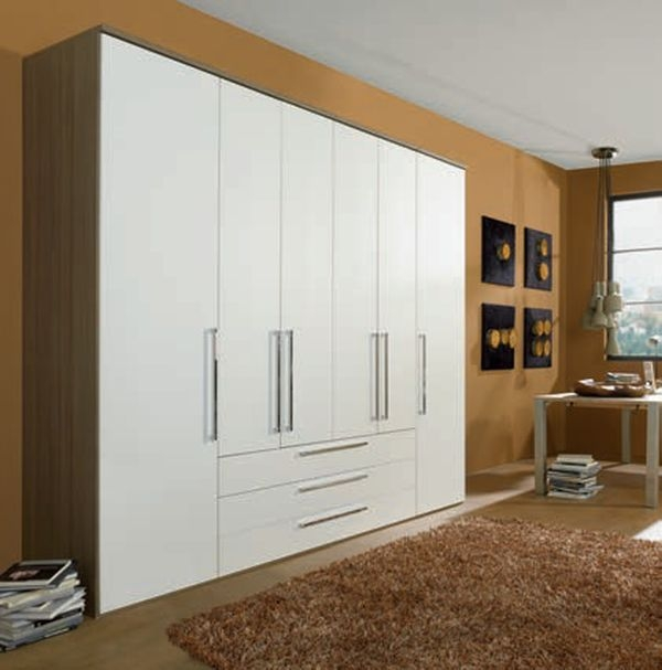 Nolte Horizont 8000 Double Door Hinged Wardrobe with Wooden Front