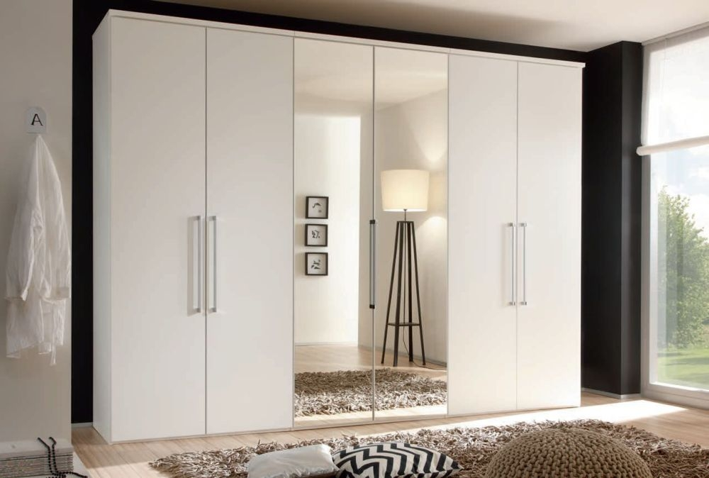 buy nolte horizont 8000 single and double door hinged wardrobe with high gloss front online cfs uk. Black Bedroom Furniture Sets. Home Design Ideas