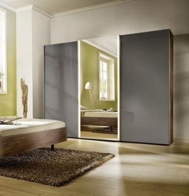 Nolte Ipanema Wood and Mirror Sliding Wardrobe