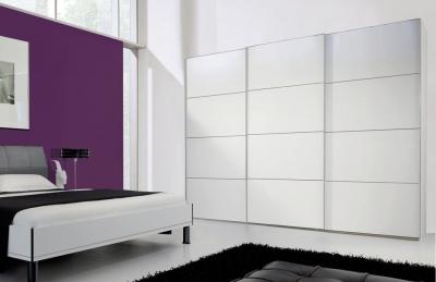 Nolte Marcato Style 5c Glass Doors Sliding Wardrobe with 4 Panel Effect