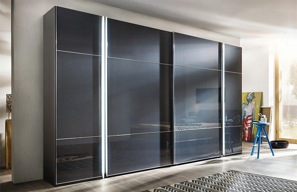 Buy Nolte Marcato Style 1c Glass Doors Sliding Wardrobe