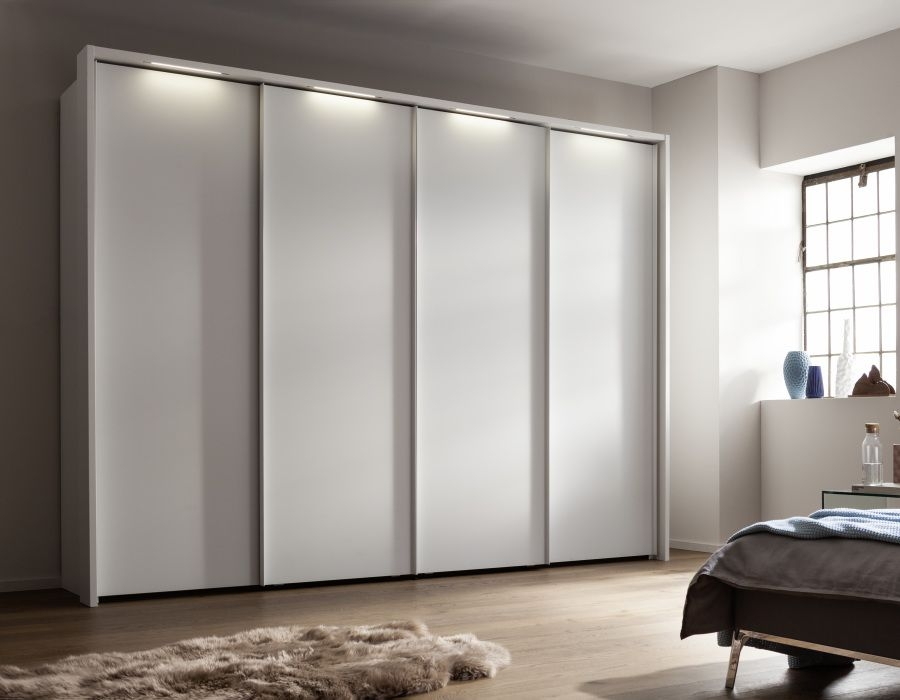 Nolte Marcato Version 2A Sliding Wardrobe with Wooden Front