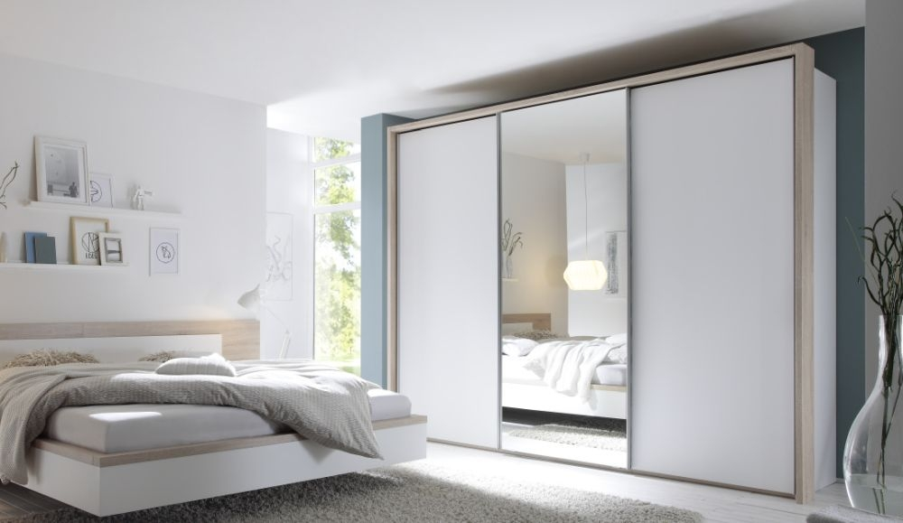 Nolte Samia Sliding Door Wardrobe with Glass Front