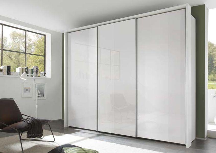 Nolte Savena Glossy Glass Front Sliding Wardrobe