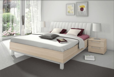 Nolte Sonyo Plus Bedframe 1 with Curved Padded Head Panel