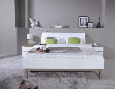Nolte Sonyo Plus Bedframe 2 with Curved Padded Head Panel