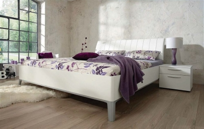 Nolte Sonyo Bedframe 1 with Curved Padded Head Panel