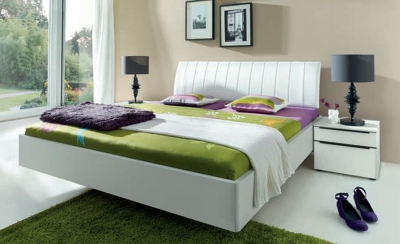 Nolte Sonyo Bedframe 2 with Curved Padded Head Panel