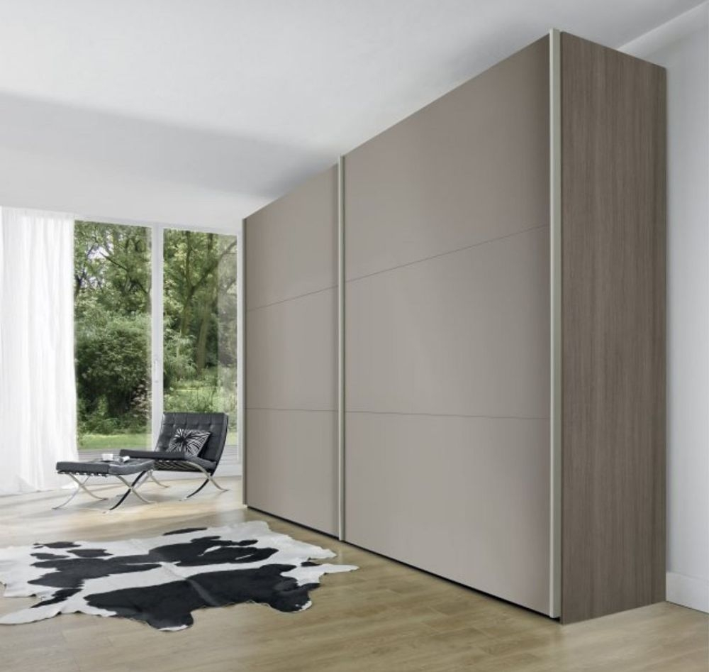Nolte Velia 1 Version - 1 Sliding Wardrobe with Wooden Front