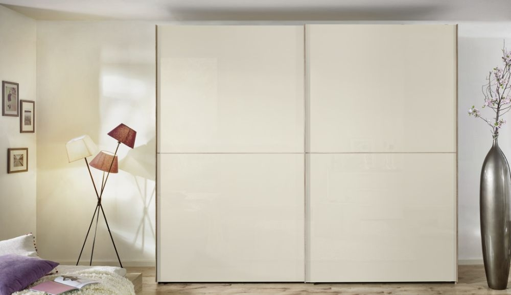 Nolte Velia 2 Version - 1 Sliding Wardrobe with Wooden Front