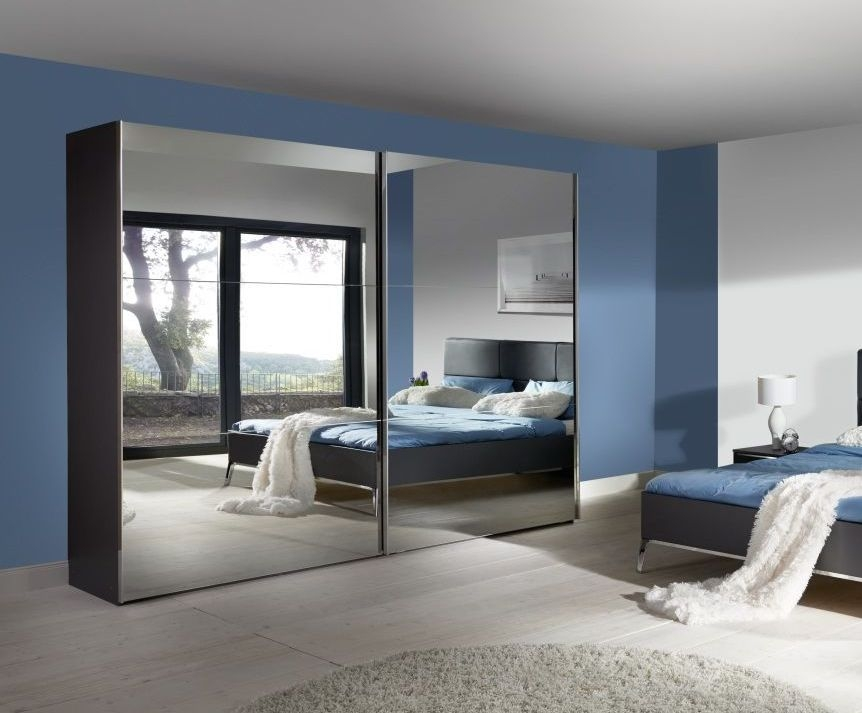 Nolte Velia 3 Version - 3B Sliding Wardrobe with Glass Front