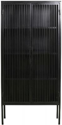 NORDAL Liao Black 2 Door Display Cabinet