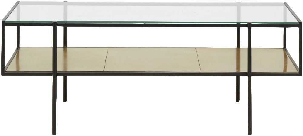 NORDAL Parana Glass Coffee Table