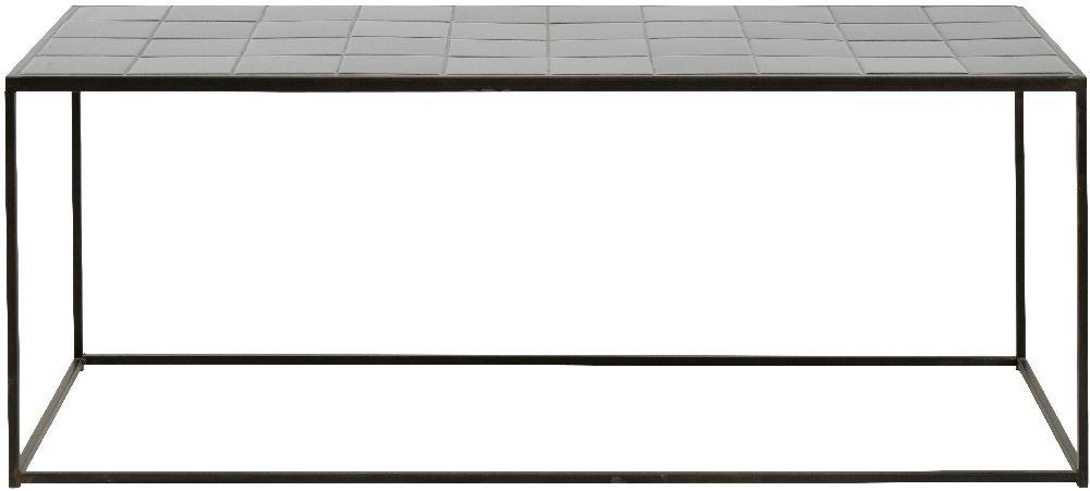 NORDAL Tajo Black Tile Coffee Table