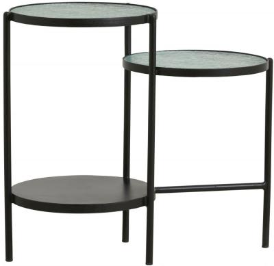 NORDAL Gera Black Iron Side Table