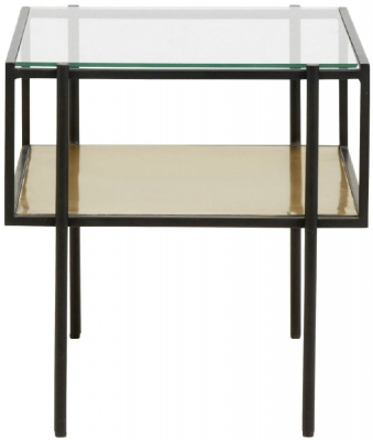 NORDAL Parana Glass Side Table
