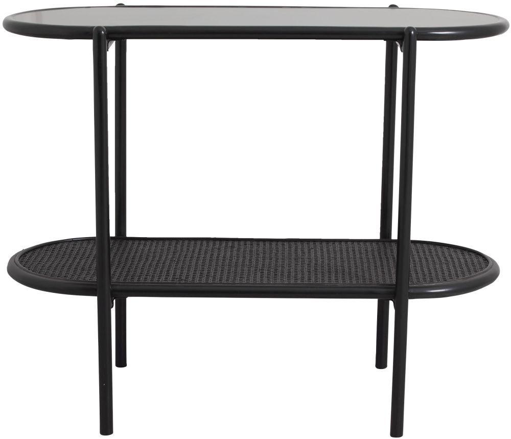 NORDAL Surma Black Side Table