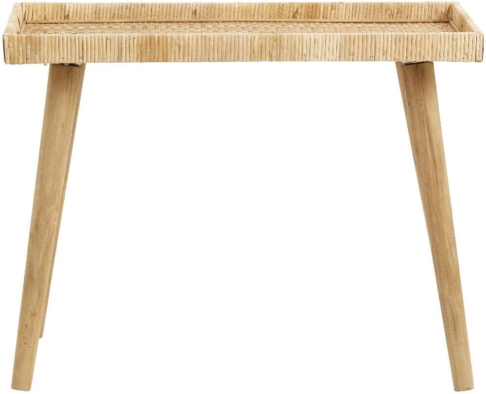 NORDAL Rivas Rattan Large Side Table