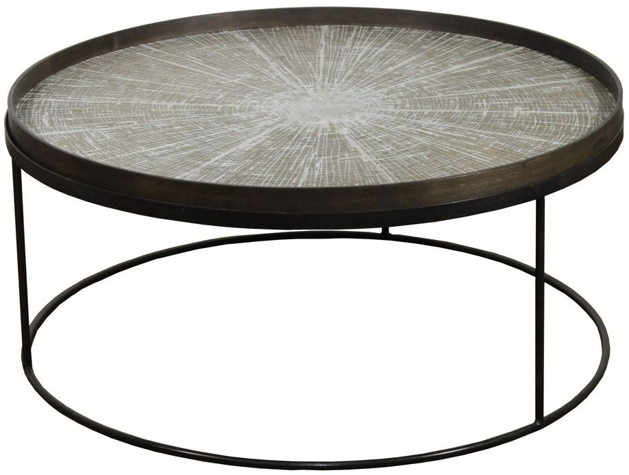 Notre Monde Low Round Tray Table