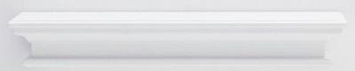 Clearance - Nova Solo Halifax White Painted Medium Floating Wall Shelf - New - FSS8721