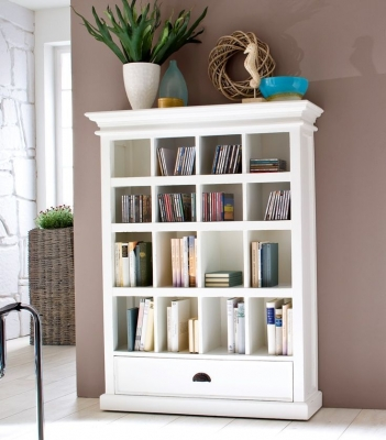Nova Solo Halifax White Entertainment Storage Unit